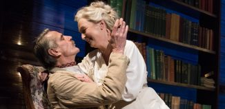 Jeremy irons and Lesley Manville in Long Day's Journey Into Night at Wyndham's Theatre, London. Photo: Hugo Glendinning