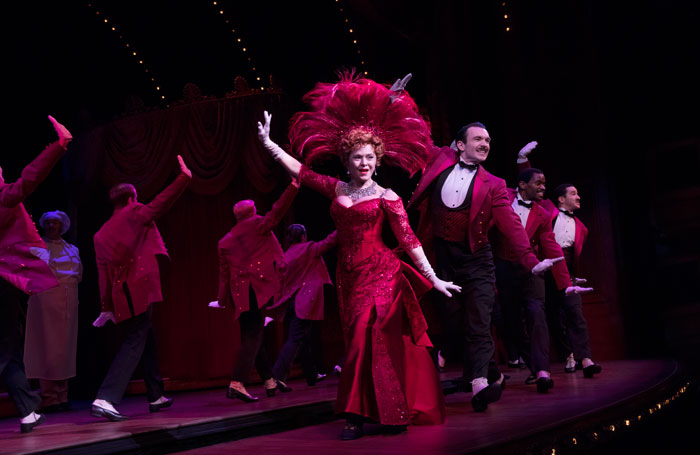 Bernadette Peters in Hello, Dolly! on Broadway. Photo: Julieta Cervantes
