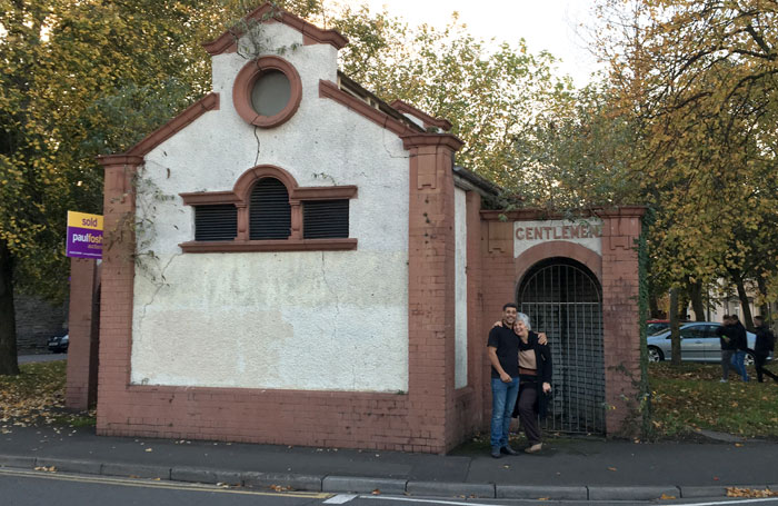 Arts entrepreneur Janet Martin hopes to repurpose the Newport Victorian gentlemen's loos as a theatre