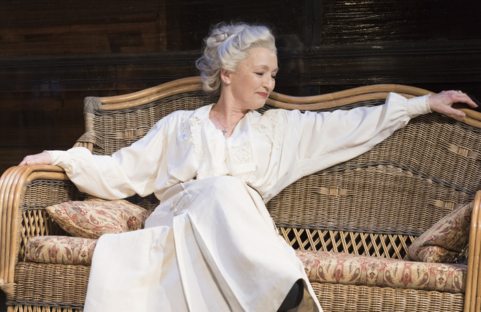 Lesley Manville in Long Day's Journey Into Night at Wyndham's Photo: Hugo Glendinning