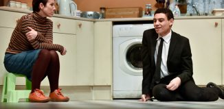 Sue Devaney and David Judge in The Kitchen Sink at Coliseum Theatre, Oldham. Photo: Joel Chester Fildes
