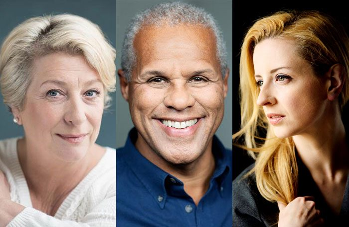 Caroline Quentin, Gary Wilmot and Laura Wade