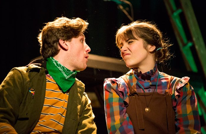 Callum McIntyre and Bethan Nash in Robin Hood at the Old Market, Brighton