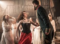 The cast of Carmen 1808 at Union Theatre, London. Photo: Scott Rylander