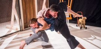 Ben Duke and Solene Weinachter in Lost Dog's Juliet and Romeo. Photo: Tristram Kenton