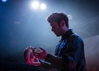 David Ricardo-Pearce in Hamlet at Octagon Theatre, Bolton. Photo: Richard Davenport