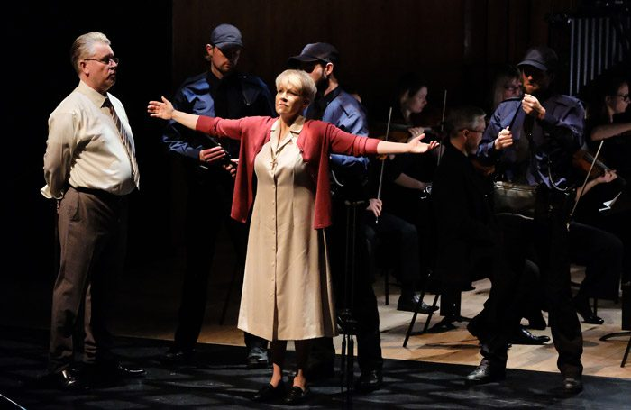 Joyce DiDonato in Dead Man Walking at Barbican Hall, London. Photo: Mark Allan