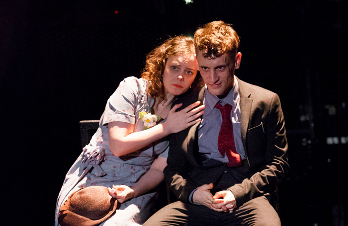 Sarah Middleton and Jacob James Beswick in Brighton Rock at York Theatre Royal. Photo: Karl Andre