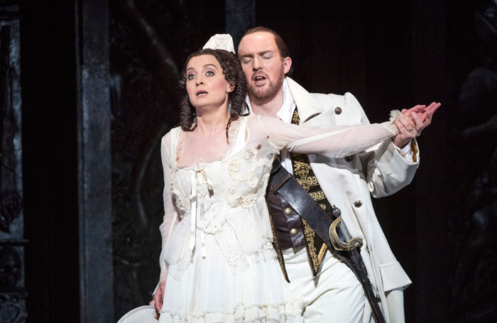 Katie Bray and Gavan Ring in Don Giovanni at Wales Millennium Centre, Cardiff. Photo: Richard Hubert Smith
