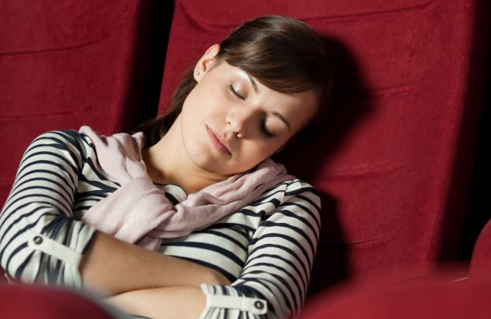 For critics, it's always going to be seen as sloppy to sleep at the theatre. Photo: Shutterstock