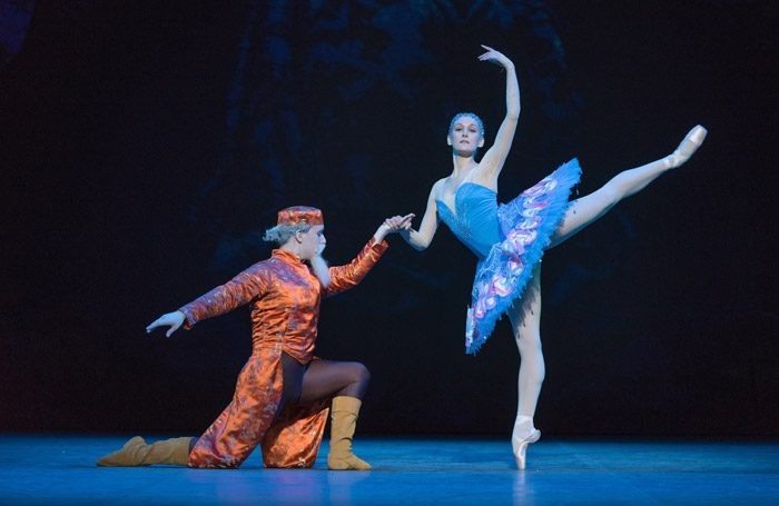 Maria Sascha Khan and Nicholas MacKay at Russian Ballet Icons at London Coliseum. Photo: Marc Haegeman
