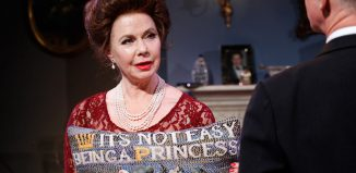Felicity Dean in A Princess Undone at Park Theatre, London