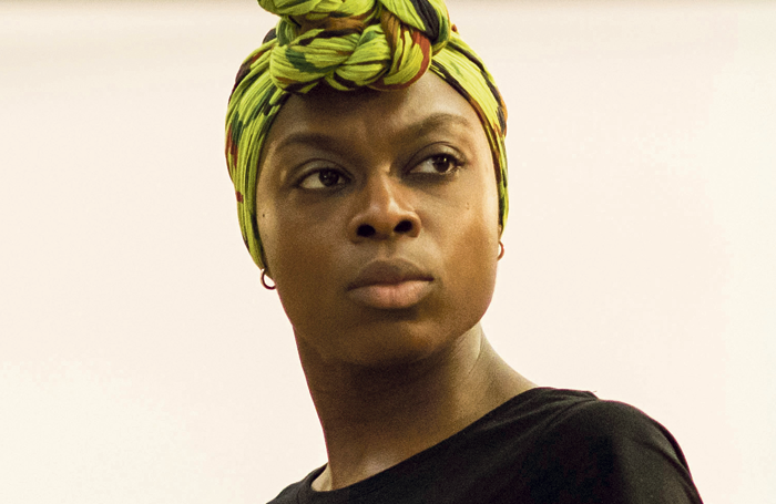 Joan Iyiola in rehearsals for The Duchess of Malfi. Photo: Helen Maybanks