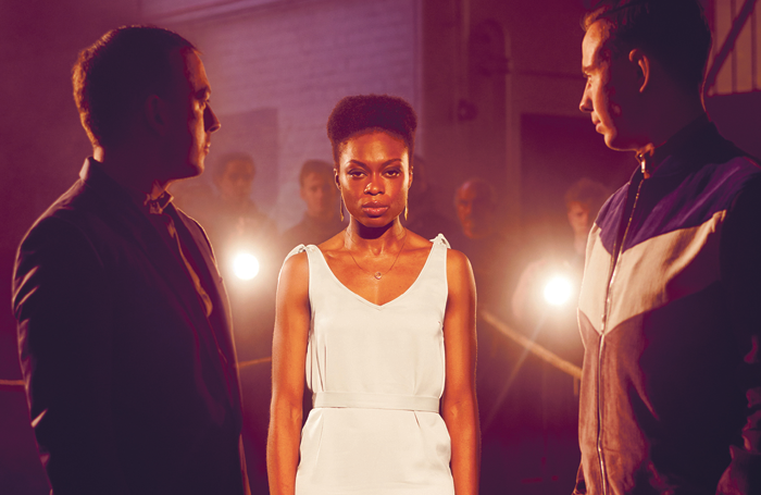 Joan Iyiola in the poster for The Duchess of Malfi