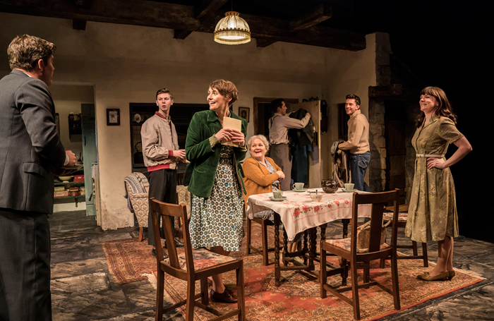 A scene from The York Realist at the Donmar Warehouse. Photo: Johan Persson