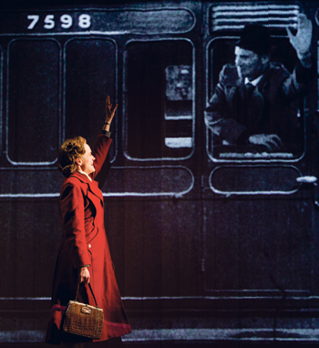 Isabel Pollen in Brief Encounter. Photo: Steve Tanner