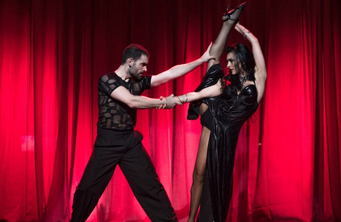Scene from Tango After Dark at Peacock Theatre, London