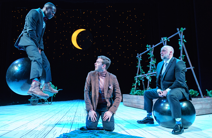 Ashley Byam, Christian Roe, Stephen Kennedy in The Velveteen Rabbit. Photo: Manuel Harlan