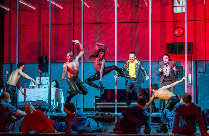 Scene from From he House of the Dead at Royal Opera House, London. Photo: Tristram Kenton