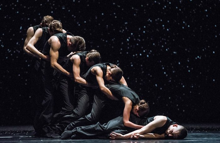 Crystal Pite's Solo Echo at Sadler's Wells, London. Photo: Wendy D