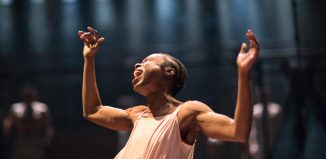 Joan Iyiola in The Duchss of Malfi at Swan Theatre, Stratford-upon-Avon. Photo: Helen Maybanks