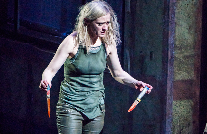 Anne Marie Duff in Macbeth. Photo: Tristram Kenton