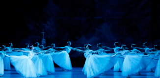 A scene from Giselle. Photo: E Fetisova