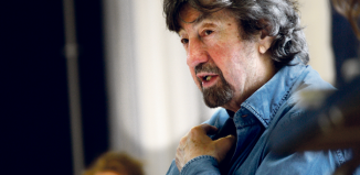 Trevor Nunn in rehearsal for Agnes Colander. Photo: Simon Annand