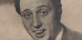 Ken Dodd on the front page of The Stage, April 15, 1965