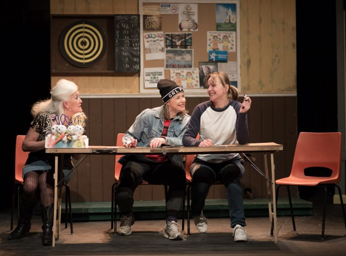 Janet Price, Nada Sharp and Joy Brook in Good People at East Riding Theatre, Beverley. Photo: Gavin Prest