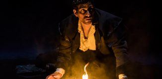 Shane Zaza in Frankenstein at the Royal Exchange Theatre, Manchester. Photo: Johan Persson