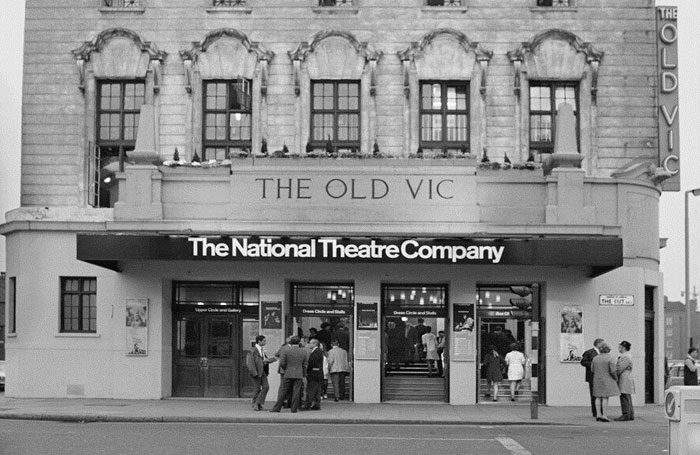 The Old Vic in the 1960s. Photo by Chris Arthur