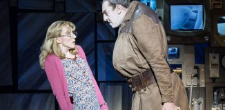 Carly Thoms and Craige Els in Matilda the Musical on tour. Photo: Manuel Harlan
