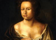 Mary Pix, painted y an unknown artist in 1690. Photo: National Portrait Gallery