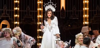 Claudia Boyle in La Traviata at London Coliseum. Photo: Tristram Kenton