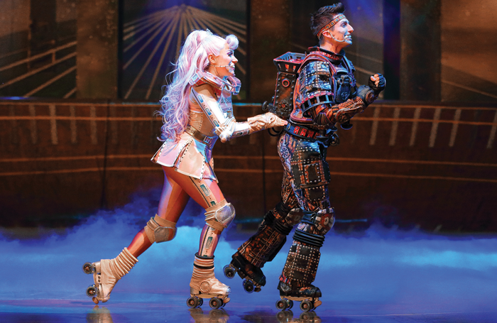 The 2014 cast of Starlight Express, which has run in Bochum, Germany since the 1980s. Photo: Jens Hauer