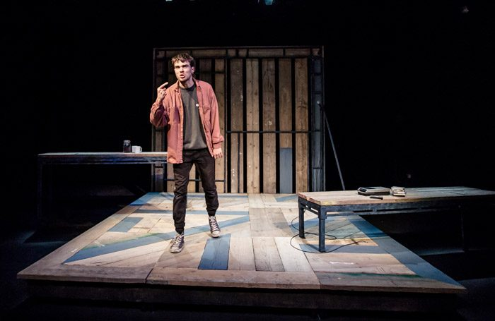 Jesse Fox in This Restless State at Ovalhouse, London. Photo: The Other Richard