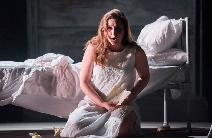 Elizabeth Karani in Mid Wales Opera's Eugene Onegin. Photo: Matthew Williams-Ellis