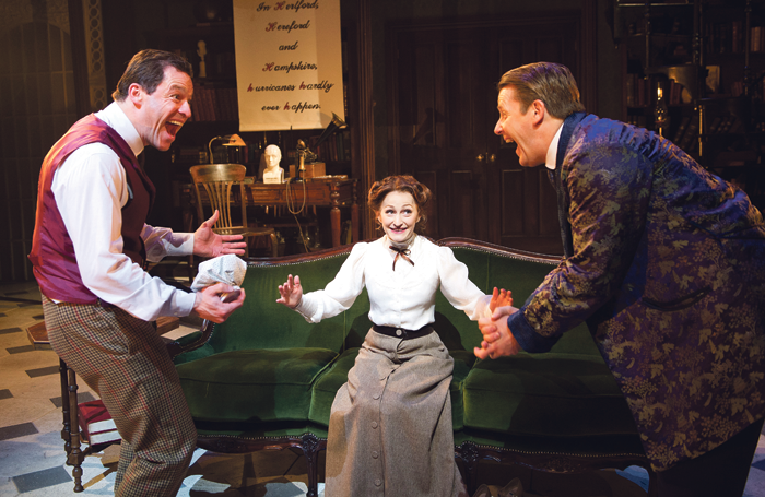 They think she's got it: Dominic West, Carly Bawden and Anthony Calf in My Fair Lady at Crucible Theatre, Sheffield in 2012. West is best known for 'straight' drama, but is there a snootiness towards musical theatre actors? Photo: Tristram Kenton