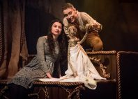 Daniella Piper and Celeste De Veazey in The Secret Garden at Barn Theatre, Cirencester
