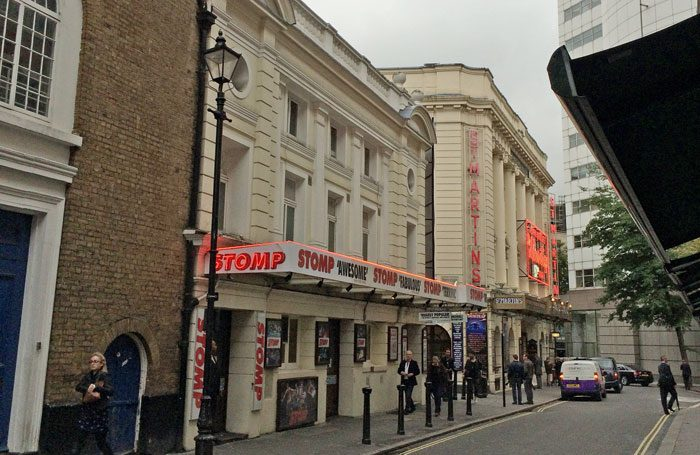 Ambassadors Theatre in the West End, currently owned by Stephen Waley-Cohen