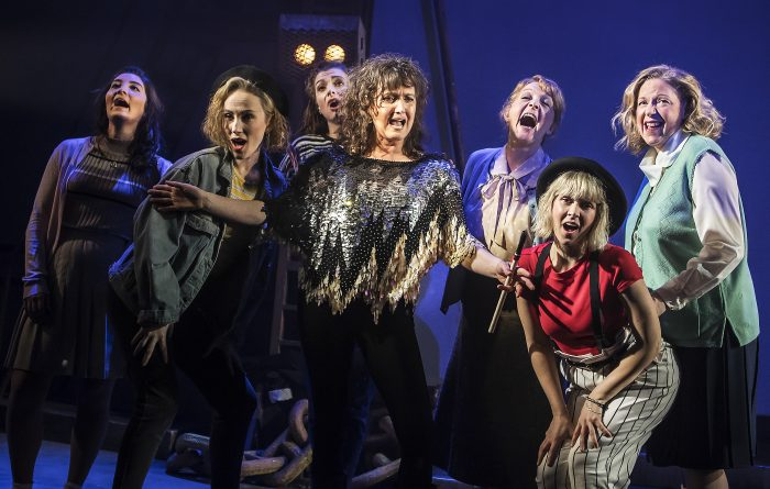 Bank holiday performance of Sting musical The Last Ship