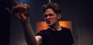 Thomas Mahy in Vincent River at Park Theatre, London. Photo: David Monteith Hodge