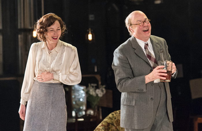 Nancy Carroll and Roger Allam in The Moderate Soprano