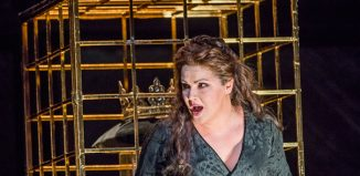 Anna Netrebko in Macbeth at Royal Opera House, London. Photo: Tristram Kenton