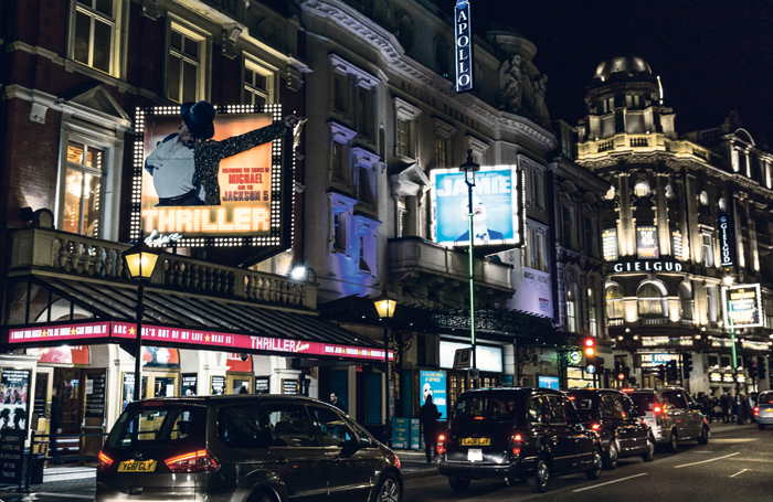 London's West End. Photo: Tom Eversley/Shutterstock