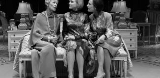 Glenda Jackson, Alison Pill in Laurie Metcalf on Broadway. Photo: Brigitte Lacombe