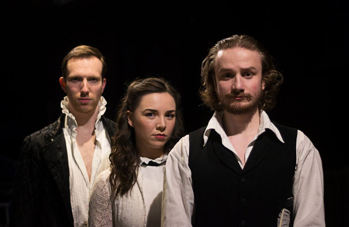 The cast of Will at Rose Playhouse Bankside, London