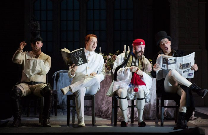 Scottish Opera's Ariadne auf Naxos at Festival Theatre, Edinburgh. Photo: Richard Campbell