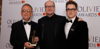 Michael Harrison, Nick Thomas and Tom Fletcher. Photo: Pamela Raith